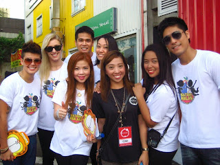 PBB Housemates Divine Smith, Mikhaela Gregory, Jerico Redrico, Trisha Sebastian, Paul Jake Castillo in Batang Malaya World Day against Child Labor