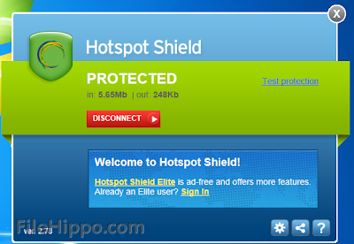 Hotspot Shield 3.13 Free Download