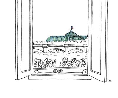 Grand Palais Paris by Yukié Matsushita