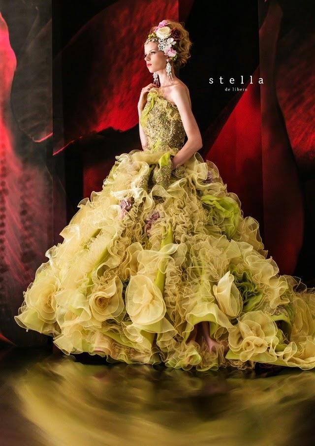 stella de libero wedding dresses 2014 collection part 1 - glowlicious me