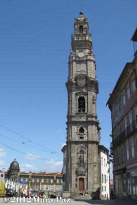 Torre dos Clerigos, Porto
