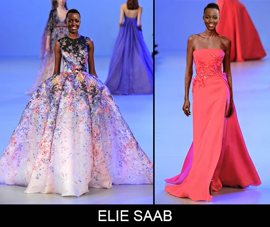 What will Lupita Nyong'o wear to Oscars 2014 Elie Saab choice
