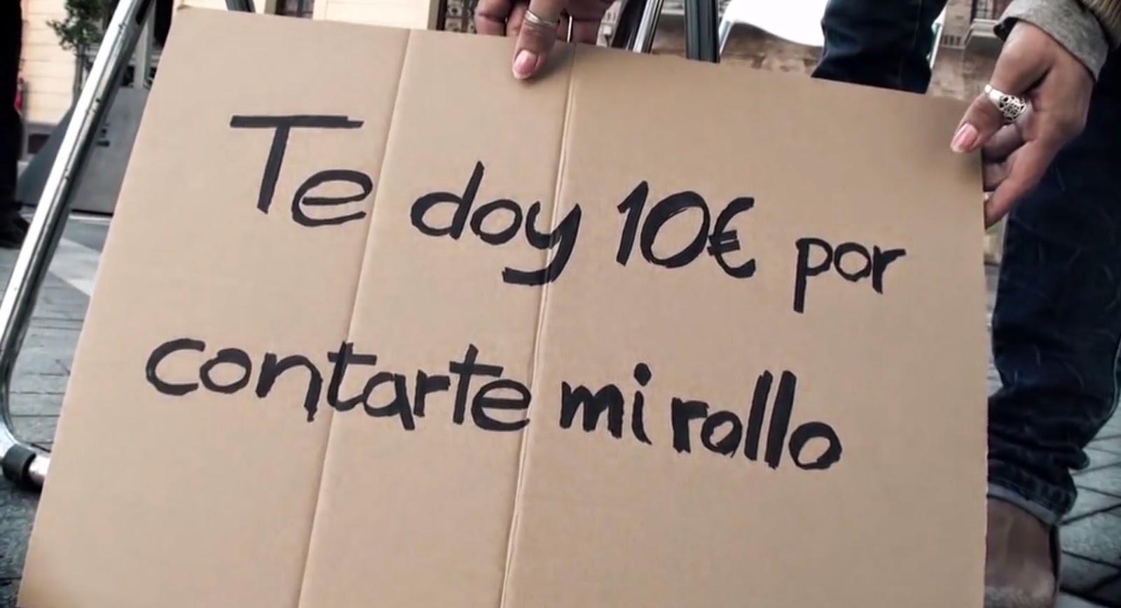 Proyecto Hombre, 10 euros por contarte mi rollo