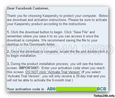 step 5 Kaspersky PURE 2.0 Total Security bản quyền 6 tháng miễn phí