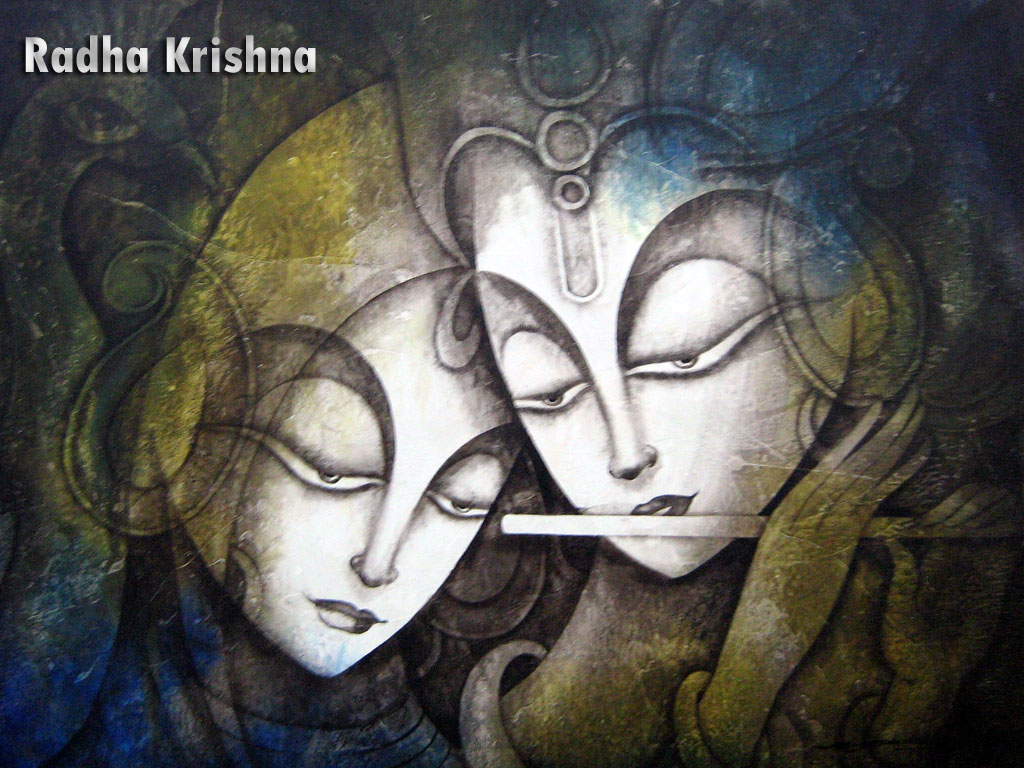 Free radha krishna 3d wallpapers