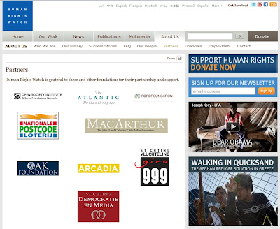 Soros funded HRW Jumps on Kony2012 AFRICOM Crusade HRWsponsorsPlusKonyRipOff