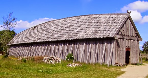 Bensozia viking buildings reconstructed for How long to build a house
