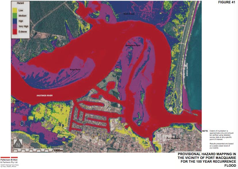 Port Macquarie Flood Levels