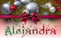 Nombres de mujeres y hombres en postales navideñas