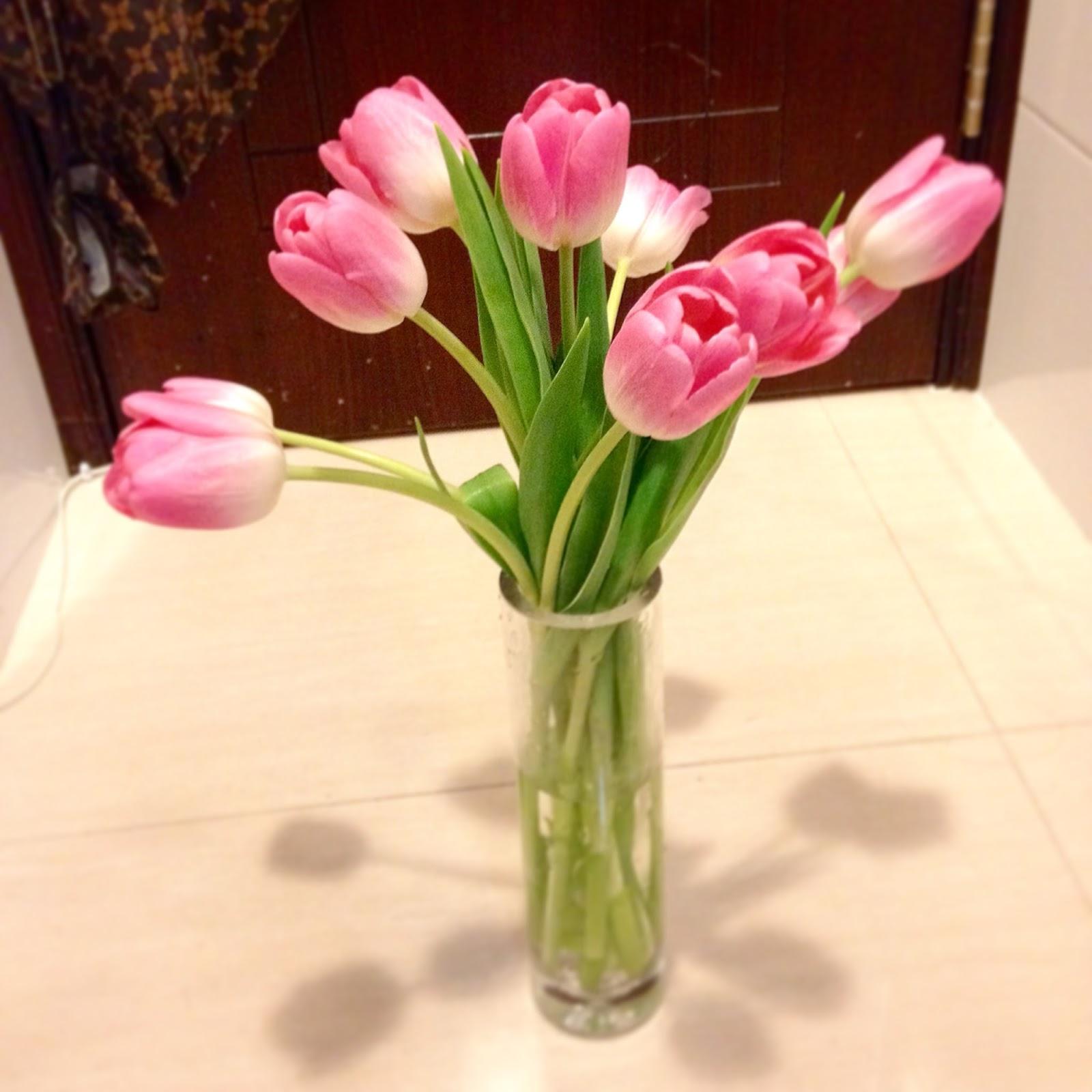 yiweilim, yi wei lim, yiwei lim, tulips, flowers, spring, pink, hong kong flower market
