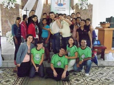 Encontro de Formação da JM e IAM na Diocese de Palmeira dos Índios/AL