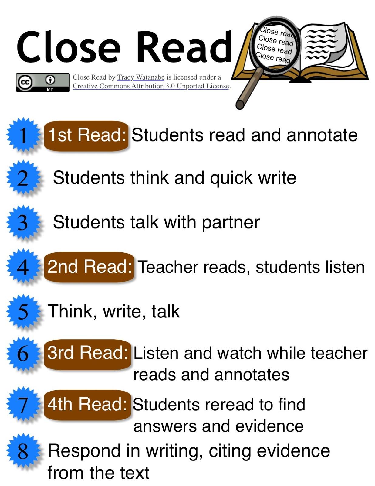 Ela Close Reading Lessons Tes Teach – Close Reading Worksheet