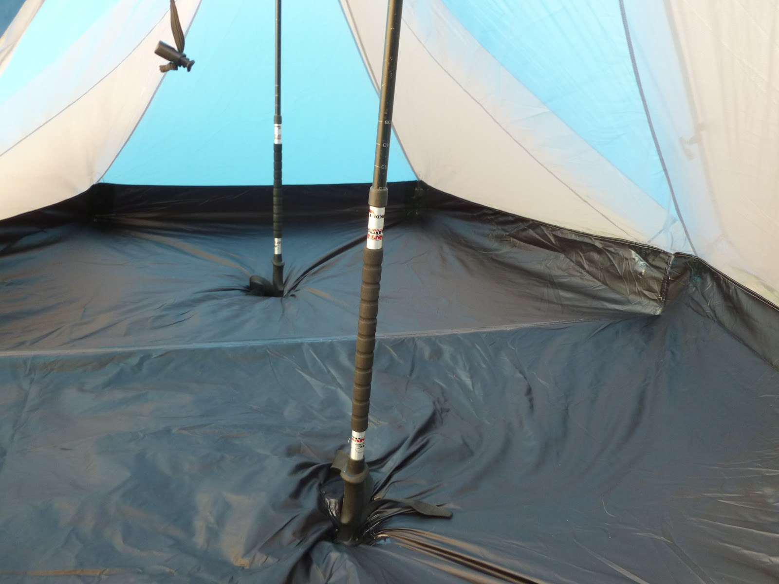 They provide greater stability and help take the load off knees during steep descents. Also using poles engages the arms and shoulders for a better workout ... & An American Explorer: Gear talk: Our new tent