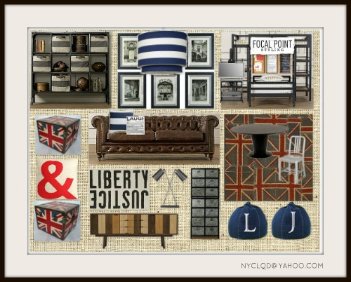 FOCAL POINT STYLING: Olympic Inspired Moodboards With British Pop!