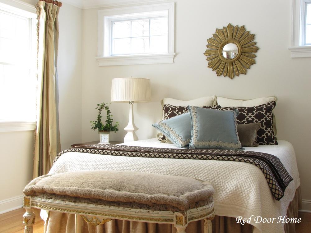 Red Door Home Master Bedroom Progress Report