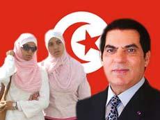 hijab tunisia yvonne ridley banned