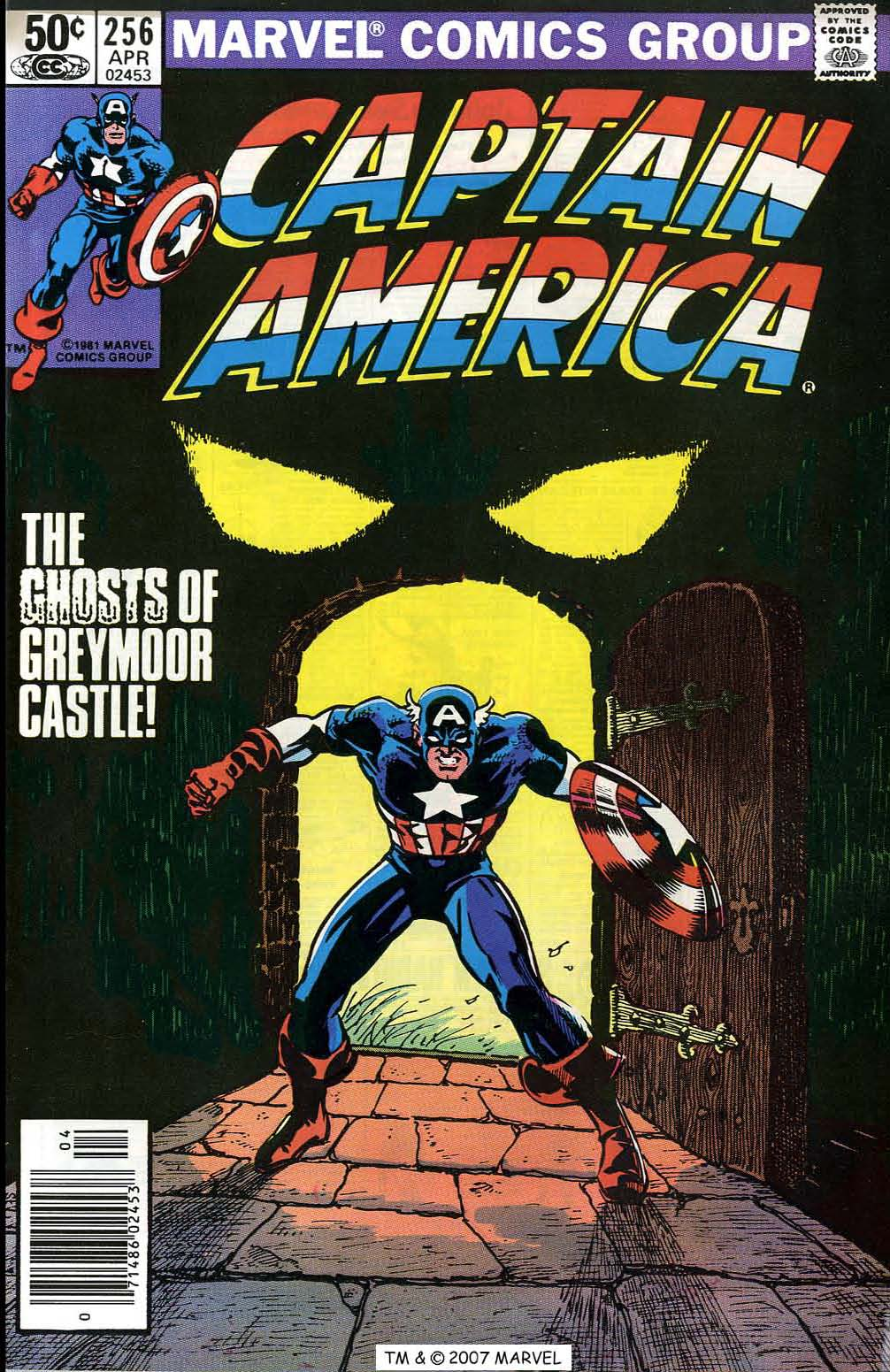 Captain America (1968) Issue #256 #171 - English 1