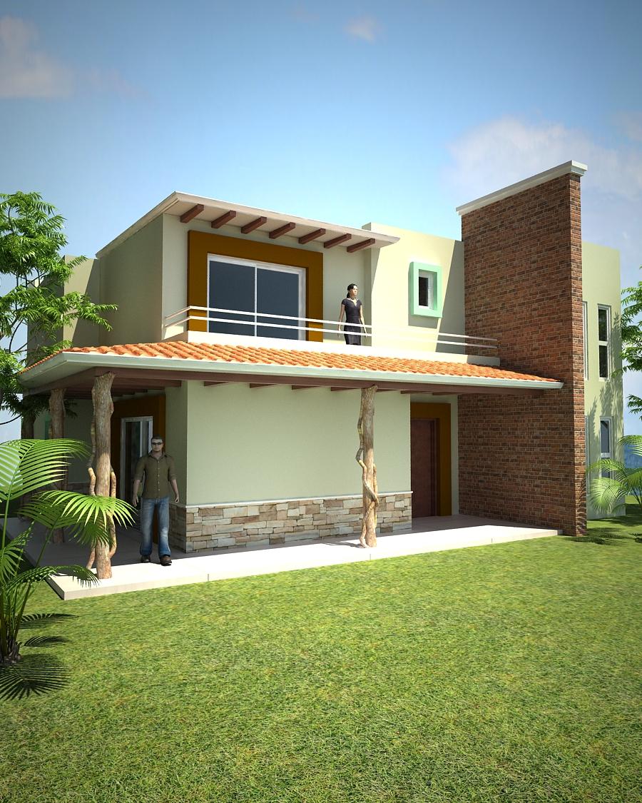 Proyectos arquitectonicos y dise o 3 d for Casa minimalista veracruz