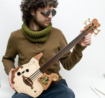 steampunk ukulele