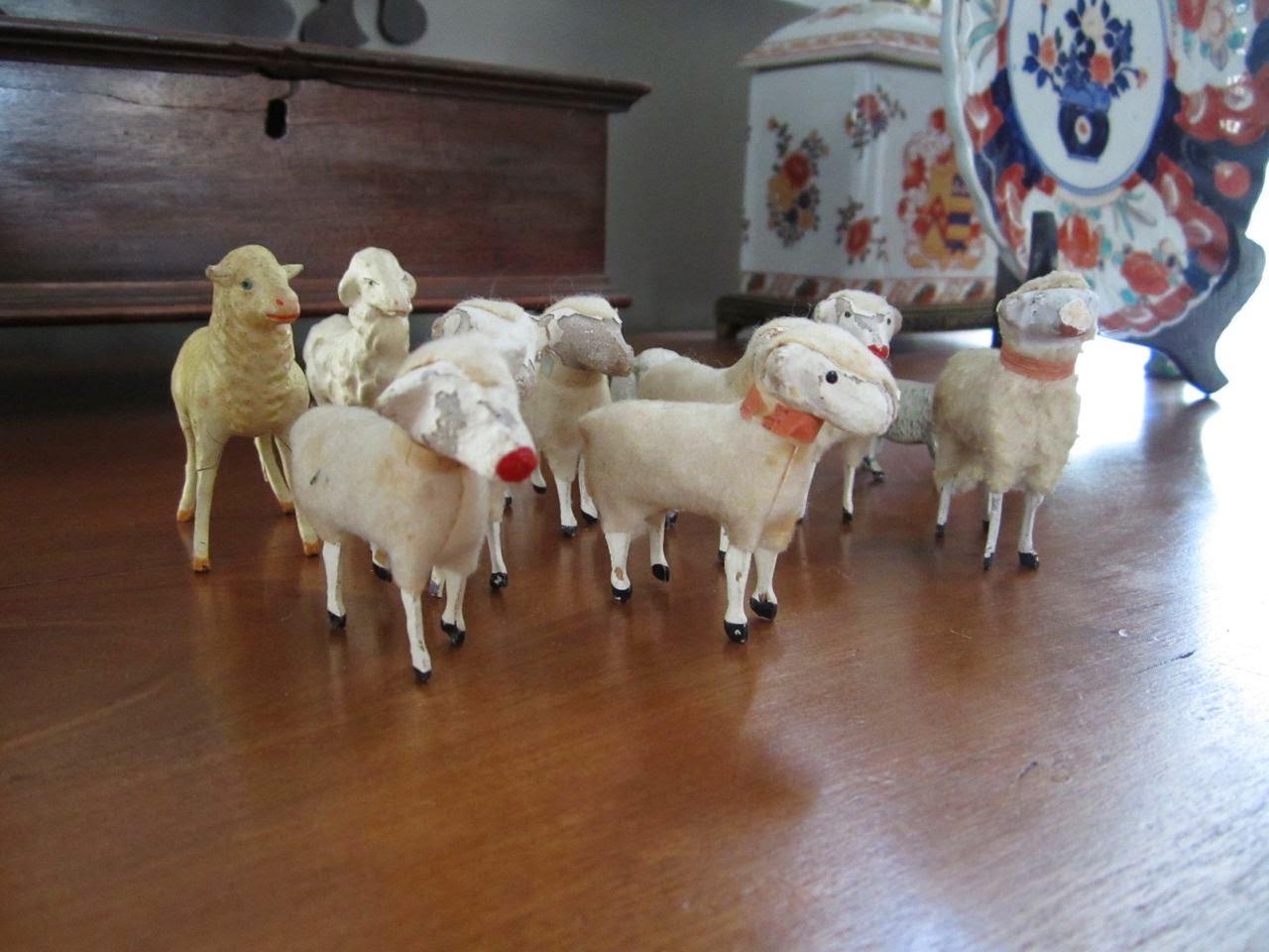 stick leg sheep