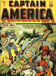 Stan Lee, Marvel, Captain America