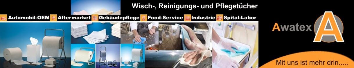 Awatex Hygiene Wisch, Reinigungs , Pflege, Spezialtücher aus Vlies.-Zellstoff- Polypropylen