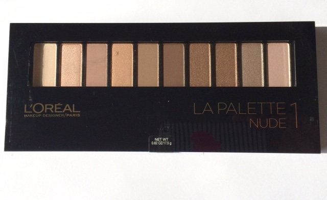 L'Oreal Nude Palatte Review