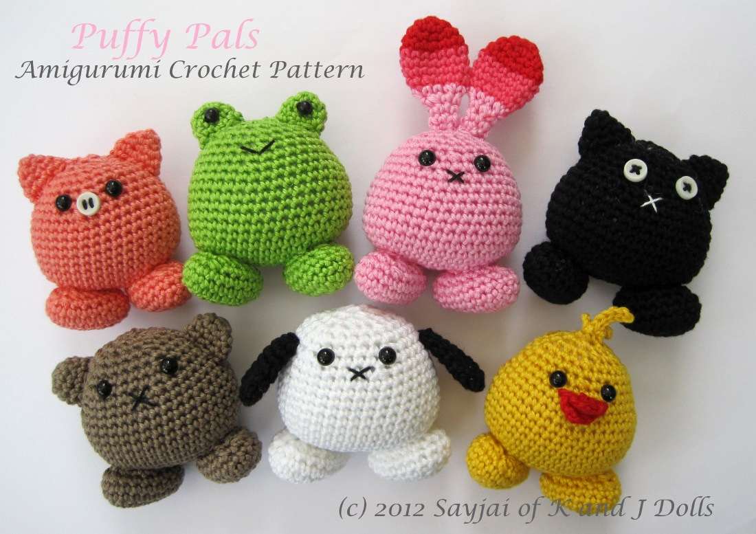 Amigurumi And Crochet : Where to buy my crochet patterns? - Sayjai Amigurumi ...
