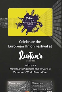 Metrobank Celebrate the European Union Festival at Rustan's