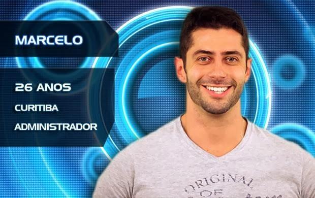 Lista de Participantes BBB14 - Participante Marcelo