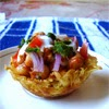 Basket chaat