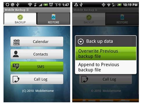 Backup Data My Backup
