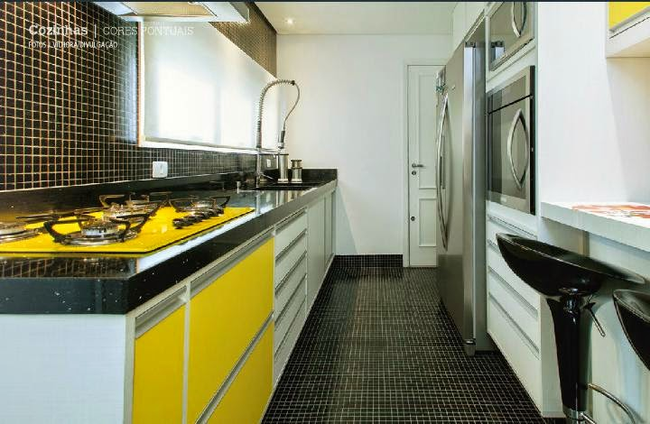 decoracao cozinha diy: na decor, algumas inspirações para cozinhas. Imagens do Pinterest