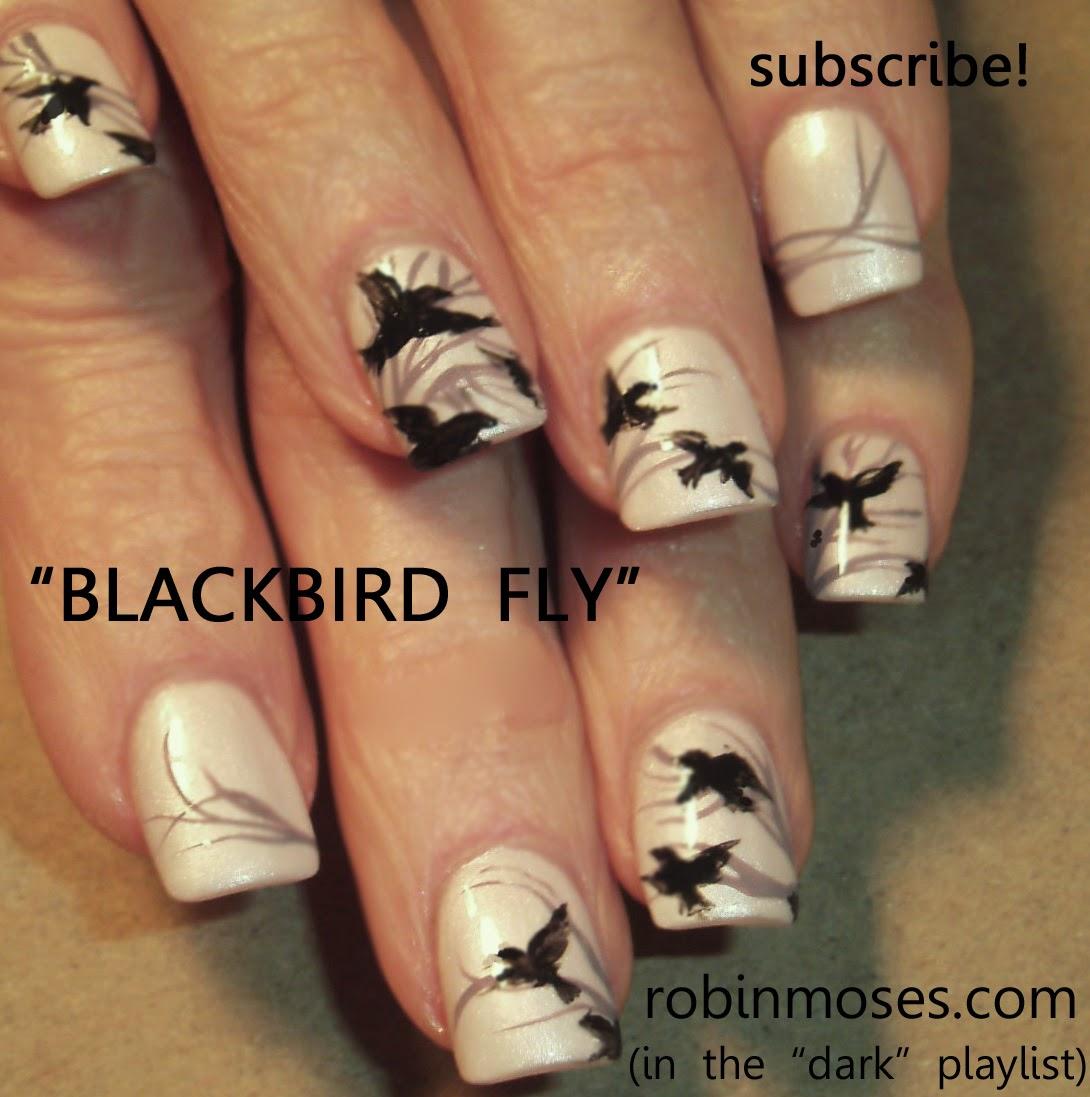 """Robin Moses Nail Art Designs: Robin Moses Nail Art: """"halloween Nails"""" """"scary Nails"""