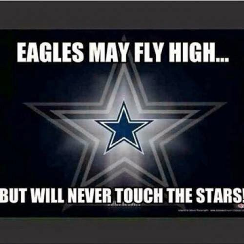 eagles may fly high... but will never touch the stars!