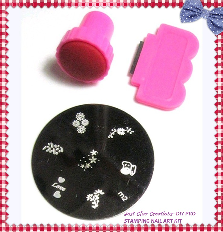 Easy Diy Nail Art Stamping Kit For All Ages Bargains Galore Store