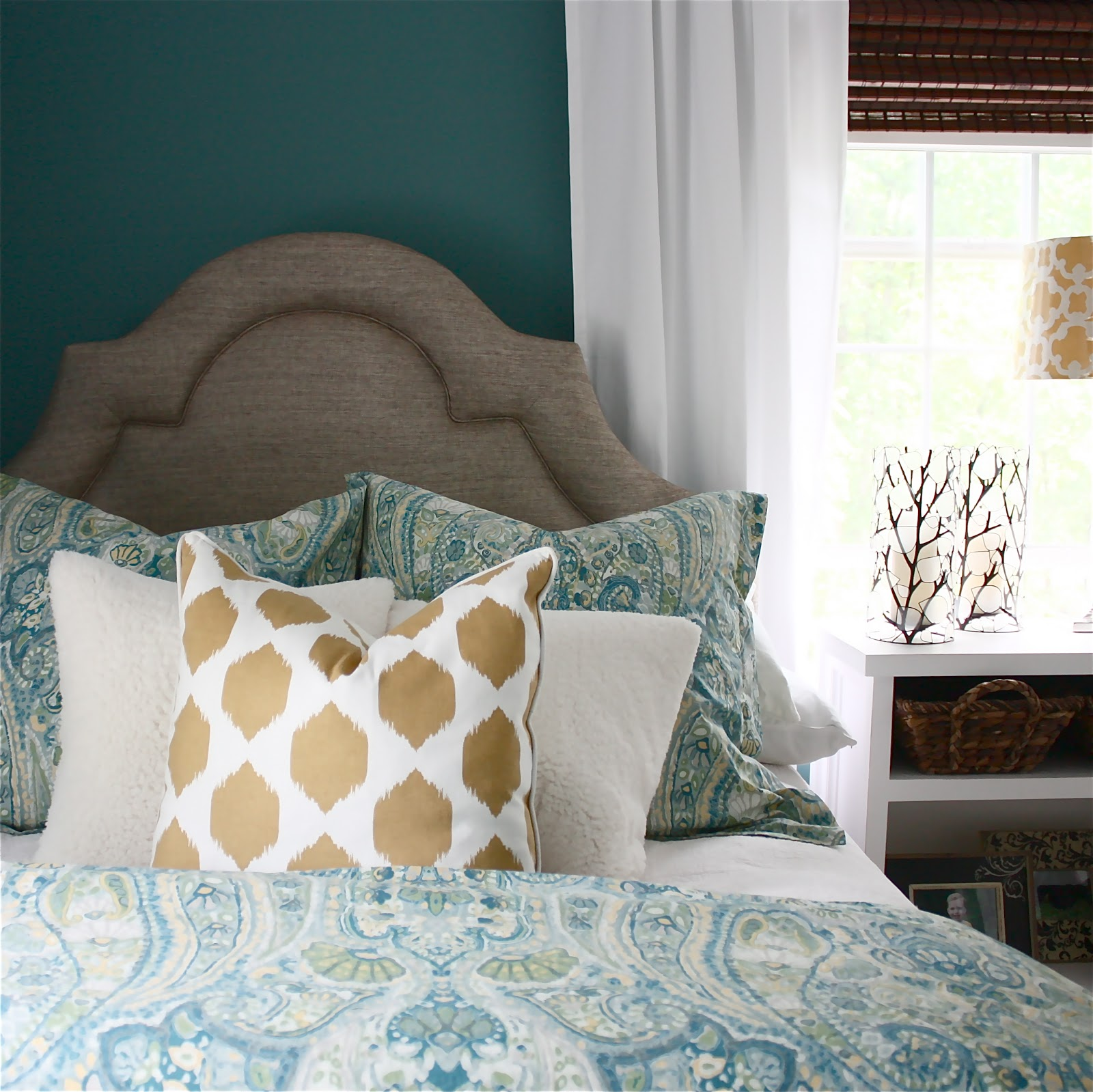 the yellow cape cod bedroom makeover before after. Black Bedroom Furniture Sets. Home Design Ideas