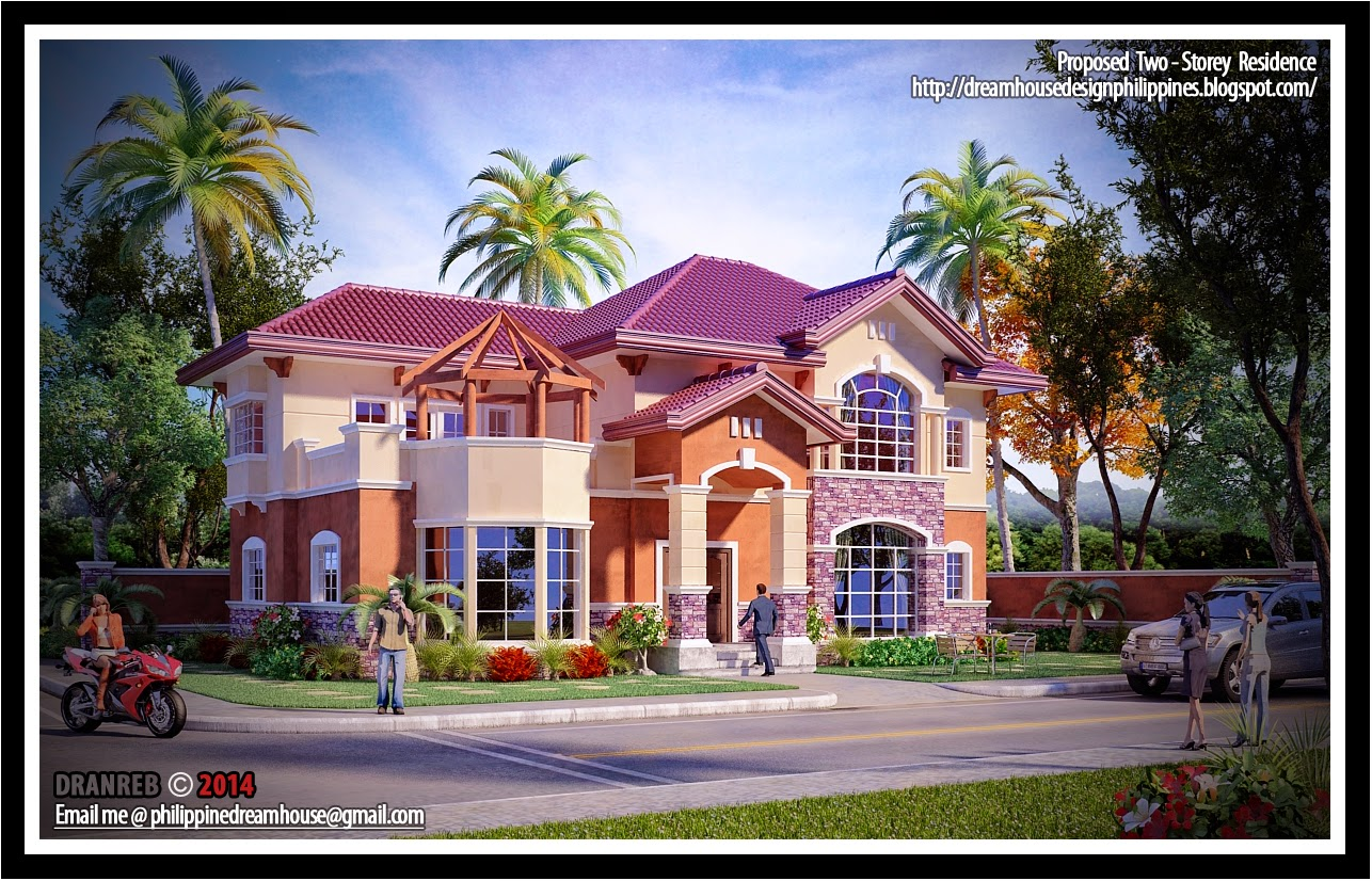 Philippine dream house design Home design dream house