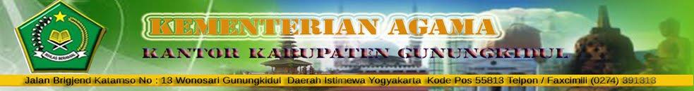 Kementerian Agama Kabupaten Gunungkidul