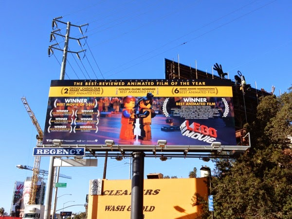 Lego Movie consideration billboard