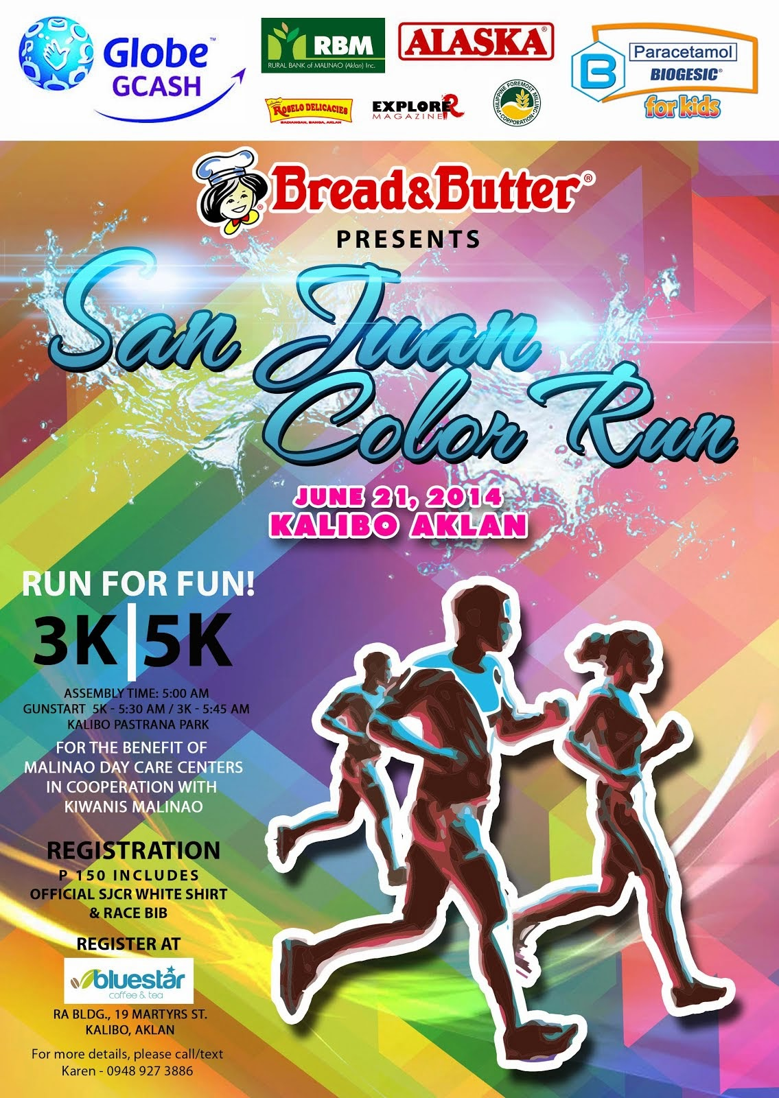 Bread & Butter host the 1st San Juan Color in Kalibo