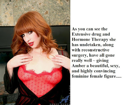 Amber was completely feminized