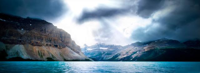 Stormy Frighten Mountain
