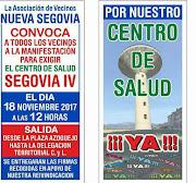 """Manifestación""""Por un centro de Salud en el Barrio del Nueva Segovia"""""""