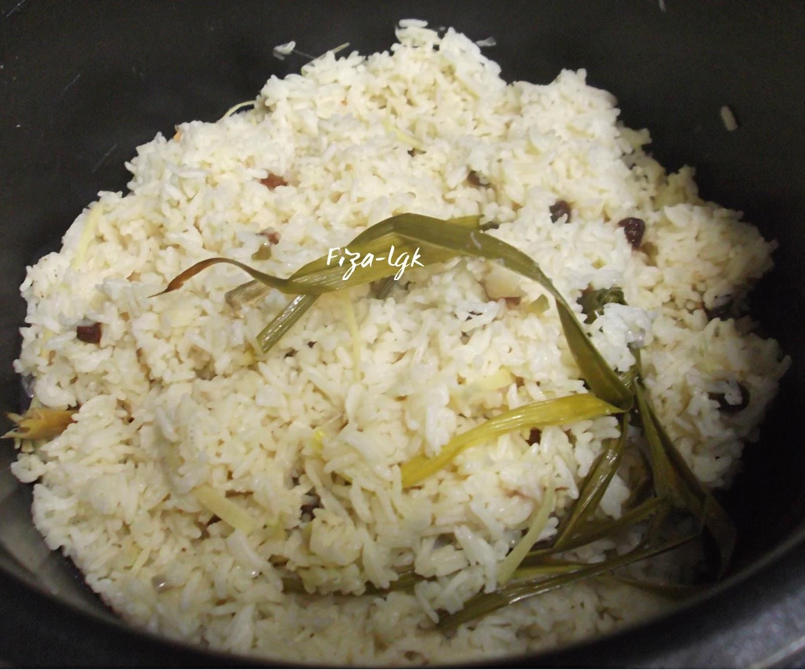 Resepi Nasi Minyak Guna Periuk Noxxa