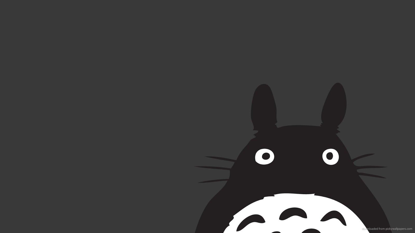 Wonderful   Wallpaper Horse Minimalist - Totoro  Best Photo Reference_906418.jpg