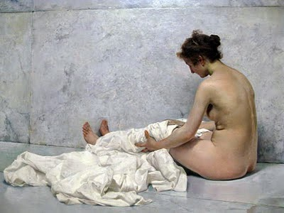 Sorolla: Después del baño, 1892