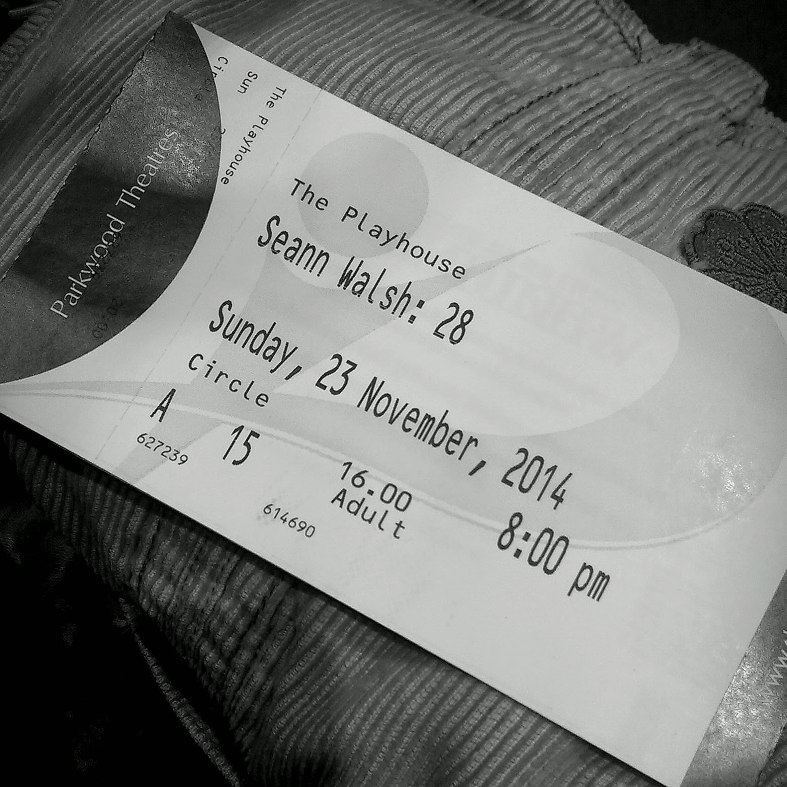 Seann Walsh tickets