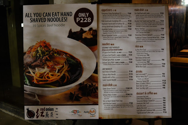 KitchenWIP - All you can eat noodles at Red Onion Cafe, UP Town Center