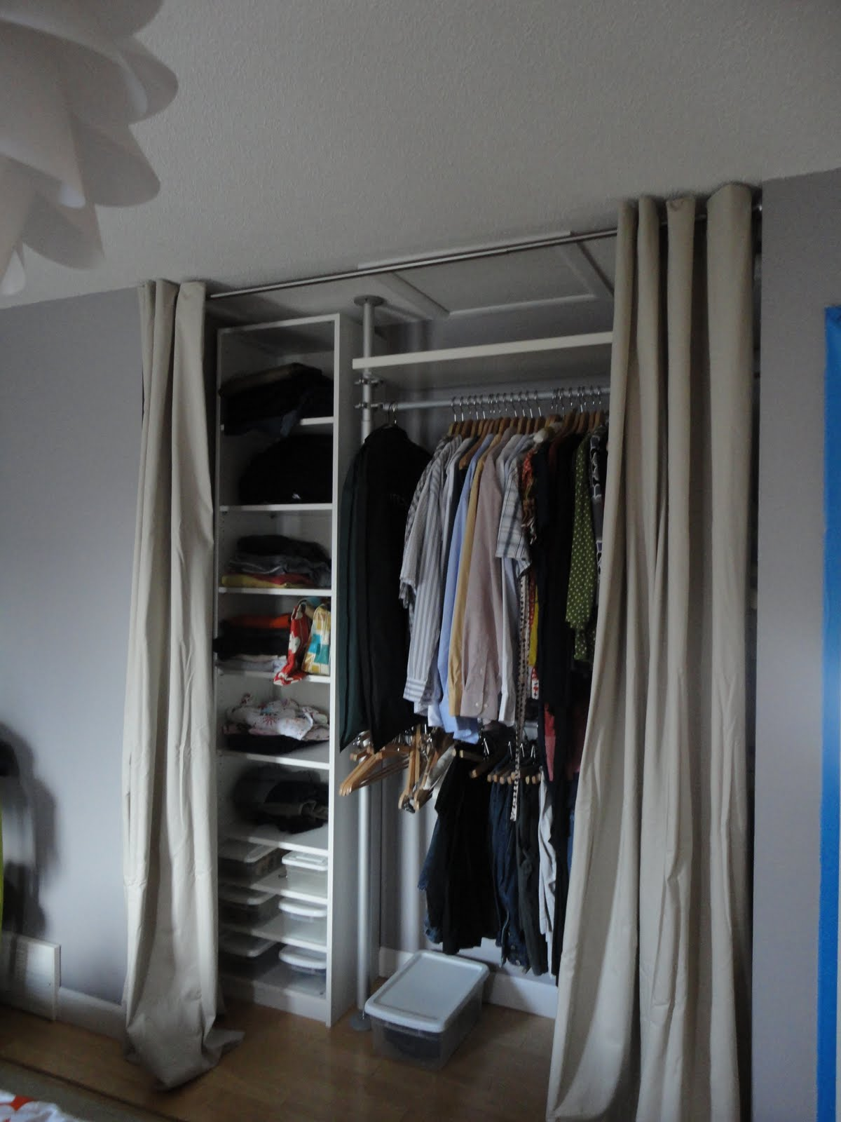 1000 images about dressing room inspiration on pinterest for Extra closet storage